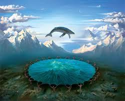 Georges Romey : une baleine sur un trampoline