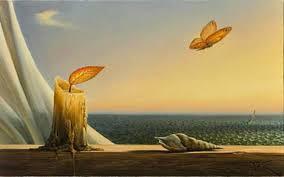 La flamme et l'envol du papillon, un exemple de créativité
