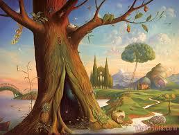 L'arbre dans l'imaginaire de Alice au pays des merveilles