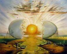 un oeuf cassé devient la naissance d'un nouveau jour, quelle créativité !
