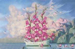 Le bateau fleuri, le parcours professionnel