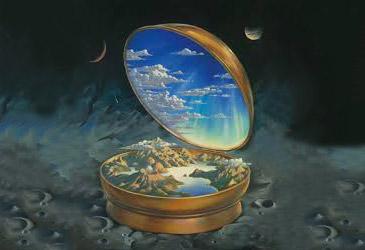 Une boussole dévoilant l'imaginaire d'un autre monde